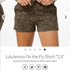 ISO on the fly shorts 4 olive summer shade multi